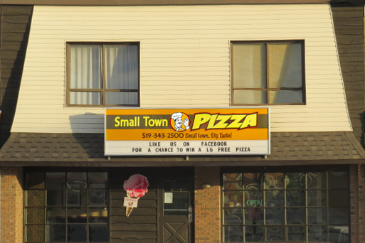 Small Town Pizza